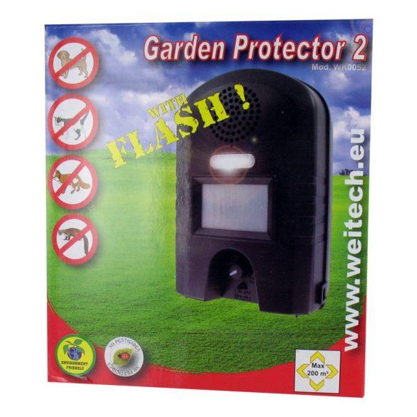 Weitech garden protector elemes ultrahangos nyestriasztó készülék