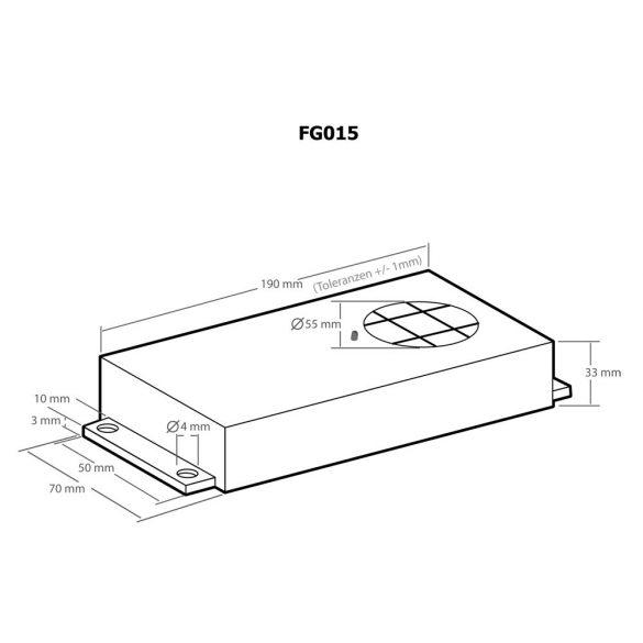 Kemo FG015 elemes ultrahangos nyestriasztó készülék